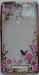 Цены на Накладка для Meizu M3 Note Цветы с золотой рамкой