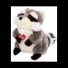 Цены на Trudi Енот (делюкс) 15см  -  мягкая игрушка Очаровательный енот покорит сердца любого ребенка. Достаточно взглянуть на его милую мордочку и необыкновенно пушистый хвост. Его шерстка такая мягкая и приятная на ощупь,   что играть и засыпать с таким созданием о