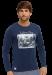 Цены на Хлопковая мужская футболка синего цвета с принтом SCHIESSER 149180шис Синий SCHIESSER  -  Ткань «дышащая»,   пропускает воздух  -  Держит форму на протяжении всего срока эксплуатации  -  Брендовое качество Футболка синего цвета с длинными рукавами от бренда Schie