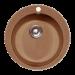 """Цены на GranFest GF - R480 Материал  -  Искусственный мрамор,   Форма  -  Круглая,   Ширина шкафа  -  40,   Диаметр сливного отверстия  -  3 1\ 2"""",   Глубина мойки  -  47,   Комплектация  -  Сливная арматура с нержавеющим клапаном,   Цвет  -  Коричневый,   Количество основных чаш  -  1,   Ширина м"""