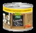 Цены на Vita Pro Консервы Vita Pro Lunch для щенков (200 г,   Индейка и цыпленок с морковью) Полнорационный консервированный корм для взрослых собак. Мясные рецепты с фруктами,   овощами и рисом. Вся продукция изготавливается только из натуральных высококачественных