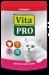 Цены на Vita Pro Паучи Vita Pro для кошек (100 г,   Говядина) Корм НЕ СОДЕРЖИТ: формованных изделий из мясного фарша костной муки заменителей животного белка,   например,   сои искусственных красителей усилителей вкуса искусственных ароматизаторов консервантов