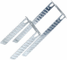 Цены на Подвес Кнауф Прямой Тип: Подвес прямой.Назначение: Предназначен для закрепления (подвески) потолочных профилей к несущим конструкциям.Технические характеристикиГабаритные размеры: 60х30х125 мм,   толщина 0,  9 мм.Расчетная нагрузка подвеса: 40 кг.