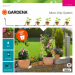 Цены на GARDENA для террас базовый 13000 - 32.000.00 Комплект для террас GARDENA предназначен для микрокапельного полива,   который может применяться в различных целях. Комплект может использоваться для полива пяти горшечных растений,   но в любом случае это оптимальны