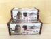 Цены на Набор шкатулок из дерева TL3645 2 штуки Шкатулка дополнит любой интерьер и скроет ваши тайники или какие - то нужные штучки. Шкатулка хорошо закрывается на замочек. Натуральные материалы,   использованные для изготовления этой шкатулки,   будут радовать ваш гла