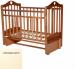 Цены на Антел Кровать Антел Каролина - 5 слоновая кость Детская кроватка (маятник) Антел Каролина 5 выполнена в простом стиле и оснащена маятниковым механизмом,   обеспечивающим легкое укачивание в продольном направлении. Кроватка изготовлена по современным технологи