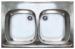 """Цены на Franke Кухонная мойка Franke ETX 620 - 50 (101.0030.481) Установка: врезная Форма: квадратная Количество чаш: 2 основные Материал: нержавеющая сталь Измельчитель пищевых отходов: нет Габариты Диаметр сливного отверстия: 1 1/ 2 """"  Глубина чаши: 15 см Разм"""