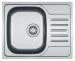 Цены на Franke Кухонная мойка Franke PXL 611 - 60 (101.0192.875) декор (112.0198.021) Установка: врезная Форма: прямоугольная Количество чаш: 1 основная Материал: нержавеющая сталь Крыло: есть Измельчитель пищевых отходов: нет Дополнительная информация: поверхность