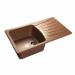 Цены на GranFest Кухонная мойка GranFest STANDART S - 850L песочный Тип: мойка кухонная Материал: мрамор Форма: прямоугольная Оборачиваемая: да Ширина мойки: 850 мм Длина мойки: 495 мм Глубина мойки : 195 мм Установка: встраиваемая сверху Число основных чаш: 1 Крыл