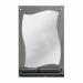 Цены на Зеркальные грани Зеркало с полочкой Зеркальные грани 0404 с креп. (н2к2) с полкой (161) Тип: зеркало для ванной комнаты Тип монтажа: настенный Форма: прямоугольная Зеркало: влагостойкое серебряное однослойное Полочка для принадлежностей: есть Ширина: 500