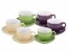 Цены на Wellberg Чайный сервиз Wellberg WB - 23652 Чайный набор Wellberg WB - 23652 изготовлен из высококачественной керамики. В набор входит 12 предметов: 6 блюдец,   6 чашек 220 мл.