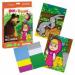 """Цены на KUKUMBA Мозаика KUKUMBA Маша и медведь - 4 0052013 Каждый ребенок старше трех лет сможет самостоятельно создать картину с изображением любимых героев мультфильма """" Маша и медведь"""" . В набор входят две картинки. На одной из них изображен заяц,   которы"""