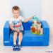 Цены на Paremo Набор мебели Paremo Раскладной игровой диванчик Голубой PCR316 - 06 Раскладной игровой диванчик,   голубой,   Paremo,   PCR316 - 06 Такой диванчик отлично подойдет для занятий творчеством,   отдыха или игр. Он принимает форму тела сидящего на нем ребенка,   обес