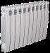 Цены на Секционный биметаллический радиатор Elegance Wave Bimetallico 350 \  08 cекций \  Элеганс Вэйв 350