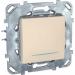 Цены на Выключатель кнопочный с подсветкой Schneider Electric UNICA бежевый MGU5.206.25NZD