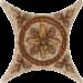 Цены на Керамическая плитка Azulev Estrella Rialto Beige Вставка 6,  7x6,  7