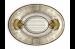 Цены на Керамическая плитка El Molino Medallon Leonora Oro - Beige вставка 10х14