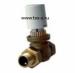 Цены на Volcano Клапан двухходовой с сервоприводом Серводвигатель имеет два сигнальных окошка,   которые индицируют состояние «Клапан открыт» на двухходовыхклапанов с сервоприводом.