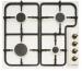 Цены на HANSA HANSA BHGY 62039 газовая варочная панель эмалированная поверхность 4 газовые конфорки переключатели поворотные электроподжиг независимая установка габариты (ШхГ) 60x50 см цвет слоновая кость