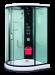 Цены на Душевая кабина LanMeng LM834 Габариты 125х125х213 смНизкий поддон 12 смГидромассаж спины(расположен на гидромассажной стойке - квадратное устройство с отверстиями для воды)Гидромассаж ног (встроен в поддон) Подсветка,   вентилятор Верхний душ(имеет два режима