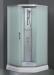 Цены на Душевая кабина Fresh H329M 90х90 90х90х215 см Идеальный вариант для квартиры и дачи,   минимум функций,   компактные размеры. Fresh H329M – это кабина без крыши,   белого цвета,   пятиугольной формы,   стандартных размеров 90 на 90 см,   оборудованная системой ручног