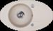 Цены на Кухонная мойка Kuppersberg CAPRI 1B1D SAND