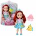 Цены на Кукла с питомцем Disney Princess 754910 Рапунцель,   Мерида (Храброе Сердце) Купить Disney Princess 754910 Принцессы Дисней Малышка с питомцем 15 см.
