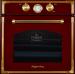 Цены на Электрический духовой шкаф Kuppersberg RC 699 BOR bronze  Описание Духовой шкаф Kuppersberg RC 699 BOR bronze: Технические характеристики: Установка встраиваемая независимая Габариты (ВхШхГ) 59,  5х59,  5х54 см. Объём 56 л. Переключатели поворотные Количеств