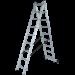 Цены на Лестница двухсекционная 2х12 NV122 Новая высота 1220212 Новая высота 2х12 NV122 Новая высота
