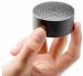 Цены на Mi Portable Round Box Black Цельнометаллическая оболочка. Приятные ощущения. Характеристики:вес  -  58 гр.,   мощность  -  2 Вт.,   время работы  -  4 часов,   радиус действия  -  5 м.,   сопротивление 40 Ом,   чувствительность 35dB,   вес 58 гр.
