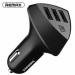 Цены на Aliens RCC304 4.2A Black Материал корпуса: глянцевый пластик 3 USB порта Входящее напряжение: 12 - 24 В Исходящее напряжение (максимальное,   при использовании одного USB порта): 5 В,   2.4А АЗУ Remax Aliens RCC304 4.2A black поставляется в картонной упаковке.