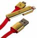 Цены на Hoco UPL14 2в1 Apple Lightning  +  Micro Usb 120см Red USB - кабель предназначенный для зарядки.