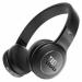 Цены на Duet BT Black JBL Bluetooth - наушники с микрофоном Назначение для занятий спортом Вид накладные Тип динамические Диапазон воспроизводимых частот 20  -  20000 Гц Импеданс 32 Ом Вес 183.3 г Конструкция Диаметр мембраны 40 мм Тип крепления оголовье Конструкция