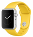 Цены на Watch Sport 38mm with Sport Band MMF02 Silver/ Yellow Apple Операционная система Watch OS Установка сторонних приложений есть Поддержка платформ iOS 8 Поддержка мобильных устройств iPhone 5 и выше Уведомления с просмотром или ответом SMS,   почта,   календарь,