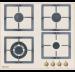 Цены на Graude Газовая варочная панель Graude GSK 60.0 EL Управление с помощью поворотных переключателей Закаленное стекло Оригинальные конфорки SABAF Чугунные решетки Исполнение: без рамки Ширина: 600 мм Цвет: античный белый