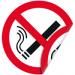 """Цены на Запрещающая двухсторонняя наклейка """"Курение запрещено"""" Наклейка 100 мм (Курение запрещено двухсторонняя) Используется на участках,   где имеются горючие и легковоспламеняющиеся вещества ,  а так же в помещениях где курение запрещено;  С одной из сторон нанесен"""