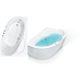 Цены на Bach Акриловая ванна Bach Изабелла 150*100 13332 - 01 280968   Асимметричная акриловая ванна Bach Изабелла 150*100 см для ванной комнаты. Ванна каплевидная. Ванна хорошо впишется в ванную комнату,   в которой совместили ванную и туалет. Варианты перестро