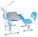 Цены на FunDesk Комплект Sorriso Sorriso  -  это комплект из стола и стула трасформера,   поможет вашему ребенку с комфортом учиться и выполнять свое домашнее задание не испытывая нагрузку в спине. Высота как у стола так и у стула регулируется под рост ребенка.