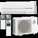 Цены на Mitsubishi Electric MSZ - SF25VE /  MUZ - SF25VE Отличительные особенности: Низкий уровень шума — 21 дБ(А) (модели MSZ - SF25/ 35VE) и высокая энергоэффективность. Современный эргономичный дизайн внутреннего блока. Новый беспроводный пульт со встроенным недельным