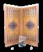 Цены на Нарды маленькие,   с деревянными шашками,   цветной рисунок so - 000556