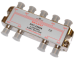 Цены на Делитель ТВ сигнала REXANT EKT 2508A Делитель ТВ сигнала на 8 с проходом Питания power pass