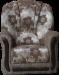 Цены на Дзержинск Мебель Кресло Анна - 1 КреслоАнна - 1 является элементом набора мягкой мебели Анна - 1. В качестве наполнителя установлены пружинные блоки. В подлокотниках используются элементы деревянного декора и кожа,   которые приятно гармонируют с тканью обивки ш