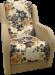 Цены на Дзержинск Мебель Кресло Дачник - 1 Кресло Дачник - 1 является элементом набора мягкой мебели Дачник - 1. В качестве наполнителя установлены пружинные блоки. В подлокотниках используются элементыдеревянного декора и кожа,   которые приятно гармонируют с тканью об