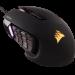 Цены на CORSAIR CORSAIR Scimitar PRO RGB (CH - 9304111 - EU) Corcair Scimitar PRO RGB Black – это флагманская модель мыши,   предназначенная для ММО игр. Она обладает настраиваемым блоком боковых клавиш,   а также отлично себя зарекомендовавшим «железом».