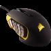 Цены на CORSAIR CORSAIR Corsair Scimitar PRO RGB (CH - 9304011 - EU) Corsair Scimitar PRO RGB Yellow - Black является одной из лучших моделей мышей для ММО игр. Она имеет настраиваемый блок клавиш,   эргономичный и красивый корпус,   а также лучший оптический сенсор.