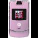 Цены на Motorola Motorola RAZR V3i Pink 2066~01 Для всех ценителей необычного подхода к дизайну и внешнему оформлению телефонов предназначена сверхпопулярная модель Motorola V3i в стильном корпусе. Этот раскладной аппарат с двумя дисплеями,   основной из которых им