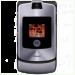 Цены на Motorola Motorola RAZR V3i Silver 2064~01 Для всех ценителей необычного подхода к дизайну и внешнему оформлению телефонов предназначена сверхпопулярная модель Motorola V3i в стильном корпусе. Этот раскладной аппарат с двумя дисплеями,   основной из которых