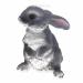 Цены на Фигура декоративная Зайка - лапочка L17W17.5H24