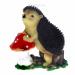Цены на Изделие декоративное Ёж на грибе,   L24 W37 H39 см