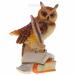 Цены на Фигурка декоративная Сова,   L12 W12 H19см